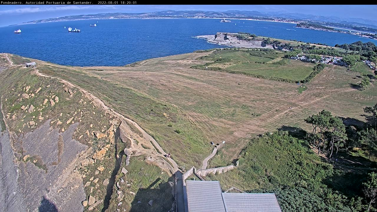 Webcam For The Port Of Santander